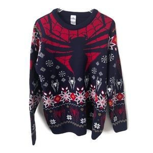 Marvel Spider-Man Ugly Christmas Sweater